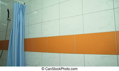 Shower cabin - Interior of a modern shower cabin
