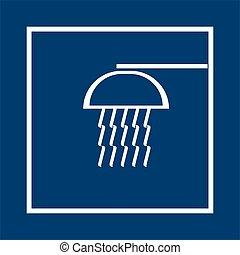 shower - symbol of shower
