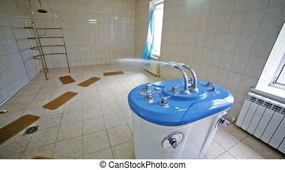shower unit bathroom bath sauna water spa salon - shower...