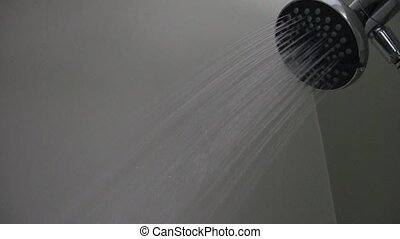 Shower - Water Streaming from Shower