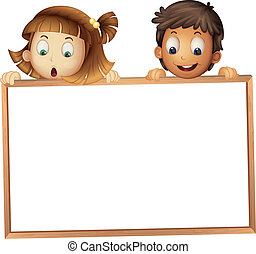 showing, děti, deska