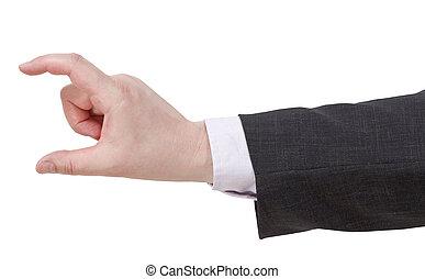 showing of medium size - hand gesture