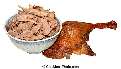Shredded Chinese Aromatic Duck Meat