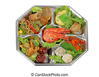 Shrimp assortments tray