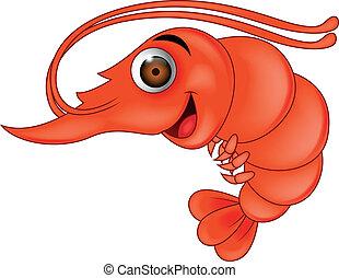 Shrimp cartoon - Funny shrimp cartoon