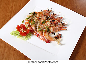 shrimp dish cooked
