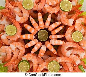 Shrimp - Gourmet large shrimp cocktail with cocktail sauce ...