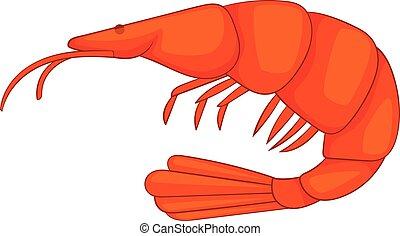 fried shrimp icon cartoon style fried shrimp icon cartoon rh canstockphoto ca Rice Clip Art Fish Clip Art