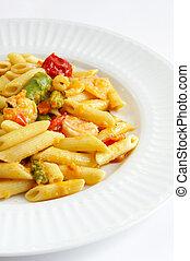 Shrimp Penne Pasta