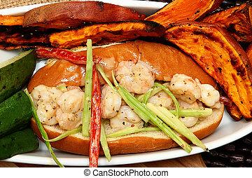 Shrimp Poboy