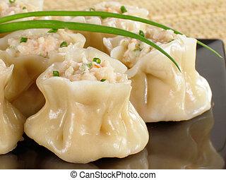 Shrimp Siu Mai - Steamed shrimp siu mai.