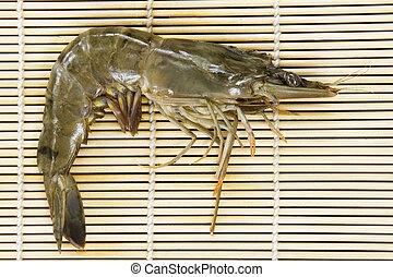 Shrimp from the wet market