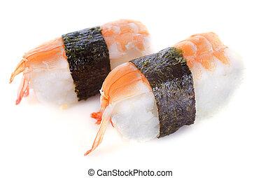 shrimps shushi