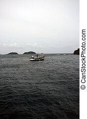 shrims fishing boat