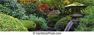 Shrine in Japanese garden