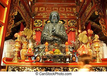 Shrine in pagoda