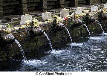 Tirta Empul - Shrine in Tirta Empul, Ubud, bali
