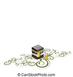 shrine., kaaba