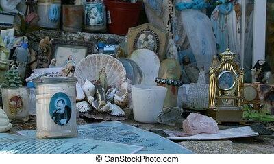 Shrine Of Religious Items