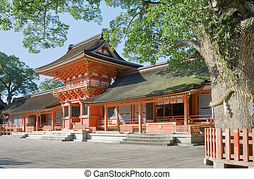 shrine - Usa jingu, japanese famous shrine