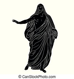 shroud., kristus, ježíš