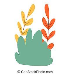 shrubbery icon cartoon