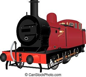 shunting, dampflokomotive