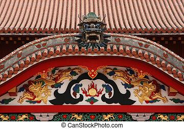 shuri, япония, окинава, naha, замок