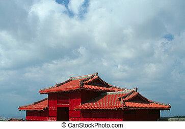Shuri Castle grounds, Okinawa