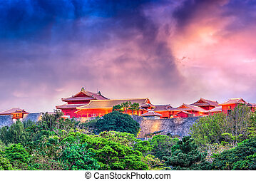 Shuri Castle Okinawa Japan