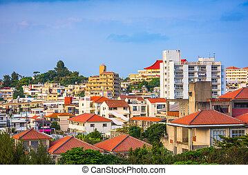 Shuri, Okinawa, Japan Cityscape
