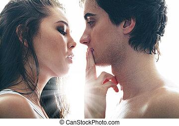 Shush, lover