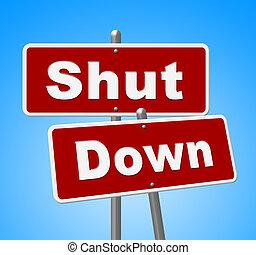 shutdown, governo, senado, meios, sinais fechados, presidente, américa, ou