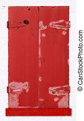 Shuttered Red