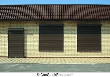 Shutters on doors and windows