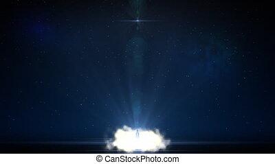 Shuttle launch - Night shuttle launch