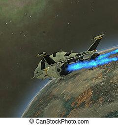 shuttlestar, trasporto