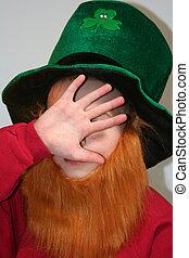 Shy Leprechaun Boy