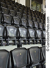 sièges, image, sports, vide, arena.