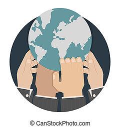 siła robocza, świat, osiąganie