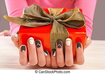 siła robocza, box., samica, dar, manicured