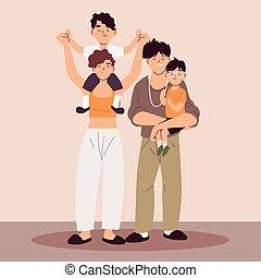siła robocza, dzierżawa, rodzice, dzieci