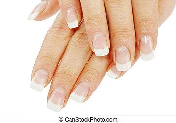 siła robocza, manicure