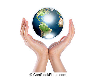 siła robocza, z, ziemia, (elements, od, to, wizerunek, dostarczony, przez, nasa)