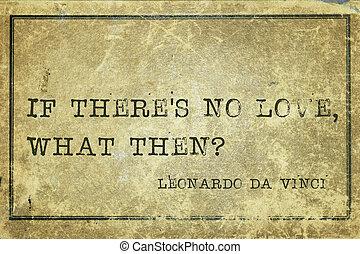 si, non, amour, davinci
