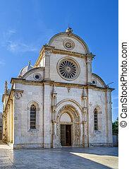 sibenik, kroatien, kathedrale