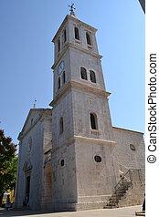 sibenik, kroatien, kirche