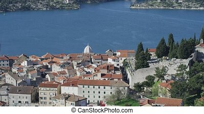 Sibenik St. Michael Fortress - Saint Michael fortress and...