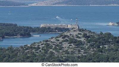 Sibenik St. Nicholas Fortress - Saint Nicholas fortress and...