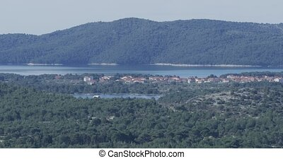 Sibenik St. Nicholas Fortress - Sibenik aquatorium panoramic...